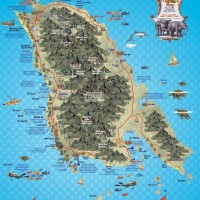 Карта острова Ко Чанг