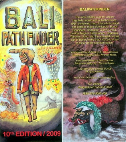 Bali Path Finder - Карта Бали