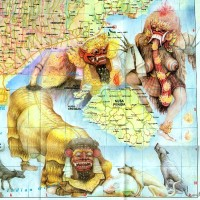 Самая креативная карта острова Бали))