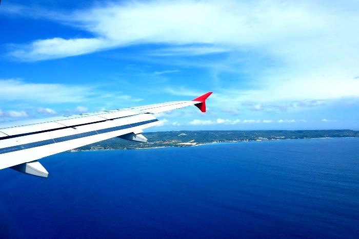 Приземление на Бали