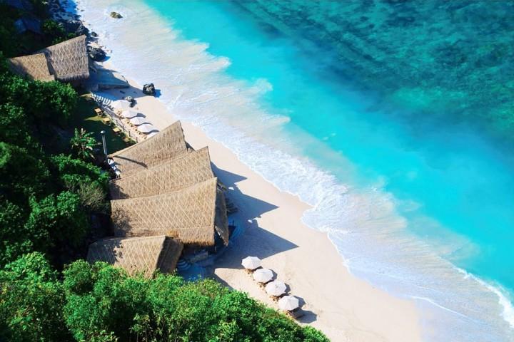 Пляж на юге Бали