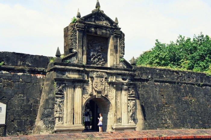 Старый форт Интрамурос