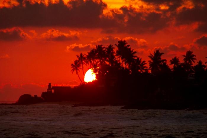 Закат на Шри-Ланке