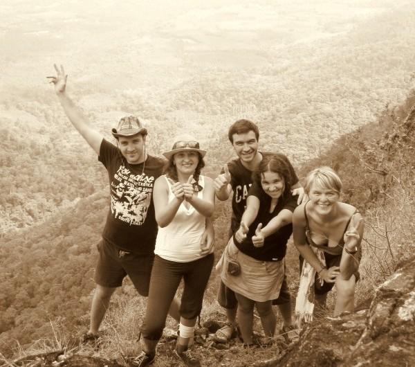 На вершине Салак Пет, Таиланд, Ко Чанг, 8 февраля 2012